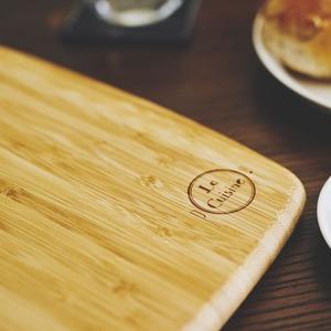 竹製カッティングボード/まな板 【幅38cm】...の紹介画像2