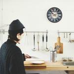 モチーフクロック/壁掛け時計 【Mサイズ/シャウエン】 直径28cm