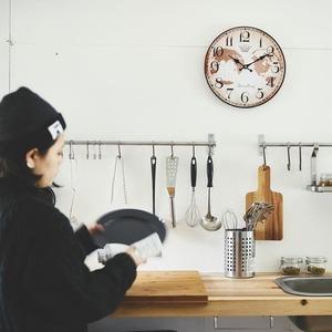 モチーフクロック/壁掛け時計 【Lサイズ/マップモンド】 直径33cm