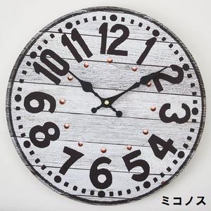モチーフクロック/壁掛け時計 【Lサイズ/ミコノス】 直径33cm