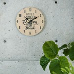 モチーフクロック/壁掛け時計 【Lサイズ/CRAFT - クラフト - 】 直径33cm
