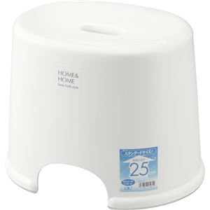 HOME&HOME 風呂椅子 250 ホワイト