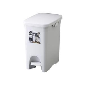 【12セット】リス ゴミ箱 HOME&HOME 20PS グレー