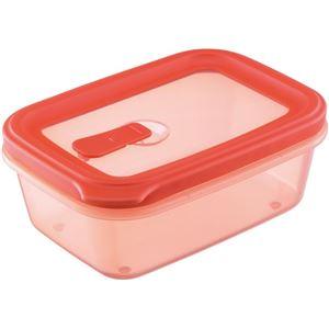 フードコンテナ/保存容器 【シールM レッド】 容量:約700ml 電子レンジ・食洗機対応可 『リベラリスタ』