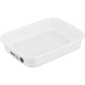 【30セット】 クッキングバット/キッチン用品 【パールホワイト】 26.6×35×7cm 材質:PP 『HOME&HOME』