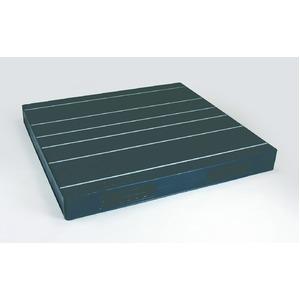 岐阜プラスチック工業 中型プラスチックパレット JCK-R2・135140 ブラック 両面使用 1350×1400mm 自動倉庫