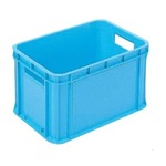 RBコンテナー/コンテナボックス 【持ち手あり 46L ブルー】 RB-M47 岐阜プラスチック工業