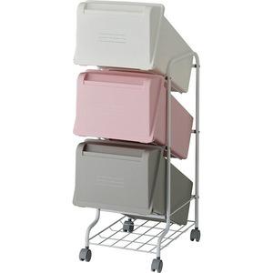 リス コンテナスタイル5 CS5-60 MX7 3段ゴミ箱 GCON157