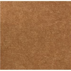 スタンダード吸音パネル/防音フェルトボード 【30×30cm 同色2枚組/ライトブラウン】 簡単取り付け