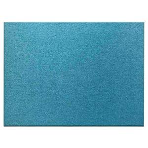 吸音パネル/防音フェルトボード【80×60cm/ブルー同色12枚セット】布貼りタイプ/45度カットFelmenonEXceed
