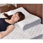 桃を優しく包む素材から生まれた爽快・快眠枕 ニュアージュピロー 日本製