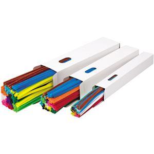 (業務用2セット) キッズ カラーモール 120本 9mm 12色セット