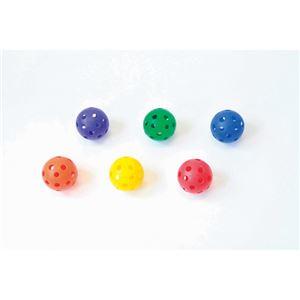 (業務用10セット) トーエイライト ソフトプラボール(6色入)B6083