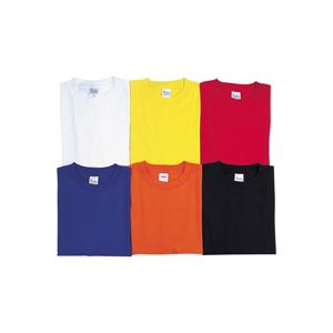 (業務用10セット) 昭和被服 Tシャツ Y4003 レッド M h01