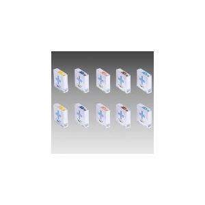 (業務用10セット) LIHIT LAB. カラーナンバーラベルHK753R-7グレ