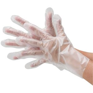 (業務用30セット)川西工業ポリエチレン手袋外エンボス袋タイプS