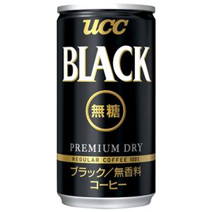 UCC ブラック無糖キャリングパック 6缶入5パック