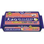 日本製紙クレシア アクティ大きなおしりふきタオル 60枚12P