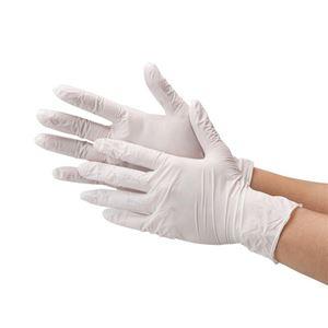川西工業 ニトリル極薄手袋 粉なしホワイトSの商品画像