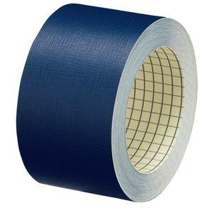 プラス △紙クロステープ AT-050JC 50mm*12m紺10巻