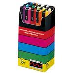 三菱鉛筆 ポスカ PC3M15 細字 15色セット 5組