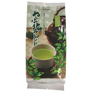 (まとめ) ハラダ製茶販売 やぶ北ブレンド 緑茶 300g/1袋【×10セット】