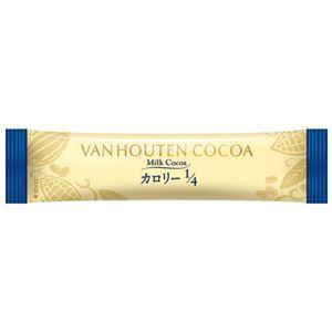 (まとめ) 片岡物産 バンホーテンミルクココアカロリー1/4 20P【×10セット】