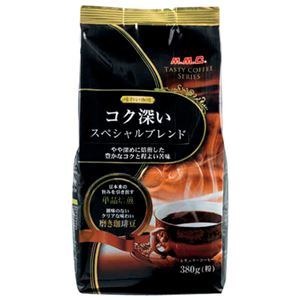 (まとめ)三本コーヒー味わい珈琲スぺシャルブレンド380g【×10セット】