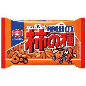 (まとめ)亀田製菓亀田の柿の種6袋200g【×10セット】