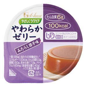 (まとめ)ハウス食品やわらかプリンみたらし団子味(48入)【×3セット】