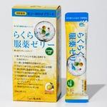 (まとめ)らくらく服薬ゼリースティックタイプ【×10セット】