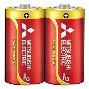 (まとめ)三菱電機乾電池LR14GD/2S単22本【×30セット】