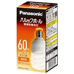 (まとめ) Panasonic 電球型蛍光灯 D60形 電球色 EFD15EL11EE17【×10セット】