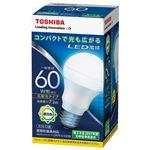 (まとめ) 東芝ライテック LED電球 広配光60W 昼白色 LDA7N-G-K/60W【×5セット】