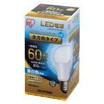 (まとめ) アイリスオーヤマ LED電球60W E26 全方向 昼白 LDA7N-G/W-6T5【×10セット】