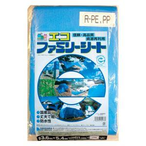 (まとめ)萩原工業エコファミリーシート#30003.6m×5.4m【×3セット】