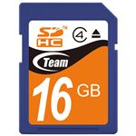 (まとめ) TEAM SDHCカード 16GB TG016G0SD24X【×10セット】