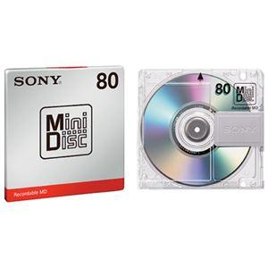 (まとめ) ソニー ミニディスク MDW80T【×10セット】