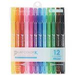 (まとめ) トンボ鉛筆 プレイカラーK 12色セット GCF-011【×10セット】