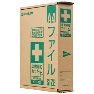 (まとめ) キングジム 災害帰宅セット KTS-100【×3セット】
