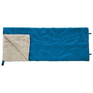 (まとめ) カワセ 封筒型シュラフ(寝袋)ブルー BDK-30B【×5セット】の写真1