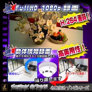 【小型カメラ】火災報知器型カメラ(匠ブランド ゾンビシリーズ)『Z-FA003』 f04