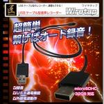 USBケーブル型音声レコーダー(匠ブランド)『Wiretap』(ワイヤタップ)の画像