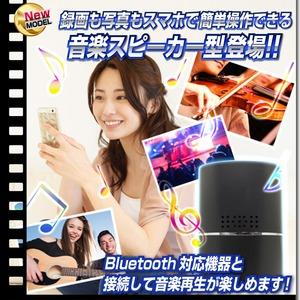 【小型カメラ】スピーカー型ビデオカメラ(匠ブランド)『Blue-Storm』(ブルーストーム)
