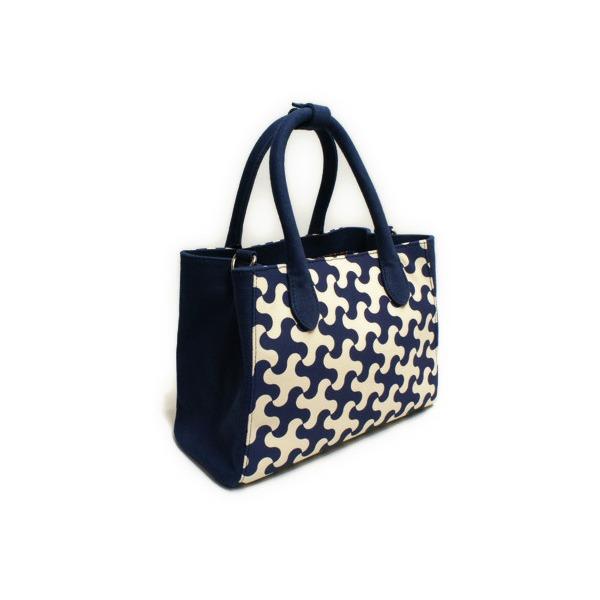 創作和柄バッグ『和'g』藍色(ネイビー) レディース 2WAY ハンドバッグ ショルダーバッグ 帆布8号 上質 和装 洋装 フォーマル カジュアルf00