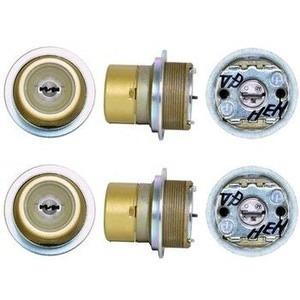 トステムURシリンダー玄関取替え用シリンダー 2個同一キー仕様/DDZZ1001