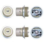 トステムURシリンダー 玄関 鍵取替え用シリンダー 2個同一キー仕様/DDZZ1002