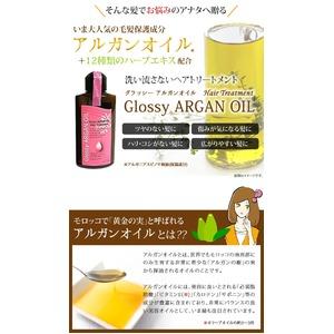 【1種×2本セット】 アルガンオイルトリートメント/ヘアケア用品 『グラッシー』
