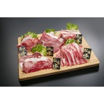 5大銘柄牛 食べ比べセット【うすぎり 計1kg】 松阪・神戸・米沢・前沢・仙台 各銘柄牛200g×5種類 の画像