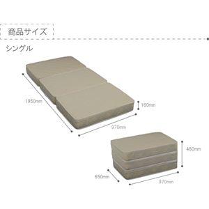 選べる収納ベッド シングル(ボンネルコイルマットレス付き) (ロータイプ:引出し×2)ブラウン